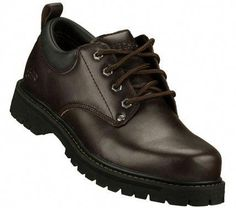 7200944eaa9 SKETCHERS Mens Alley Cats Lace-up Shoes - Brown - 13 #Heeledoxfordshoes Jay  Shoes