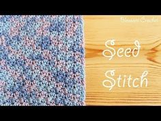 How To: Crochet The Grit Stitch | Easy Tutorial by Hopeful Honey - YouTube