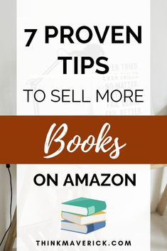 7 Things I Did to Sell More Books - ThinkMaverick - My Personal Journey through Entrepreneurship Sell Books On Amazon, Book Writing Tips, Writing Ideas, Creative Writing, Study Hard, Self Publishing, Book Authors, How To Memorize Things, Things To Sell