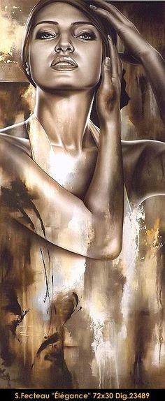 By Sarah Fecteau #gallery #artist #art