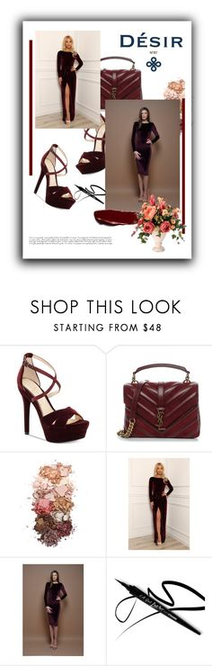 """""""DesirVale"""" by marinadusanic ❤ liked on Polyvore featuring Jessica Simpson, Yves Saint Laurent and Sigma"""