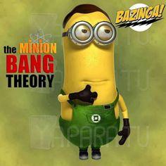 Minionssss!! And Big Bang theory!! WIN!!