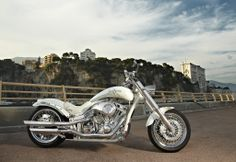 The Caroline Wozniacki bike, hand build by Lauge Jensen motorcycles