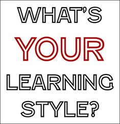 Thesis statement on learning styles