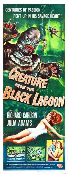 La mujer y el monstruo (Creature from the Black Lagoon, 1954, Jack Arnold)