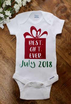 Pregnancy Announcement - Christmas - Best Gift Ever