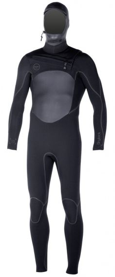 4/3mm Men's XCEL DRYLOCK TDC Hooded Fullsuit | Wetsuit Wearhouse