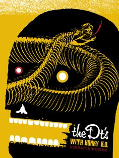 GigPosters.com - Dts, The - Honky K.o.