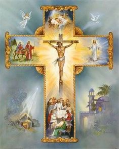 The Cross of Jesus Christ is Precious and Life-giving Pictures Of Jesus Christ, Religious Pictures, Religious Icons, Religious Art, Catholic Religion, Catholic Art, Roman Catholic, Jesus Our Savior, Jesus Is Lord