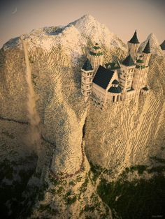 The Eyrie from Game of Thrones made in Minecraft - Imgur