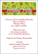 most colorful and unique holiday party invitations for Christmas with new creations being added daily