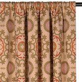 Found it at Wayfair - Bukhara Drapery Rod Pocket Curtain Panel