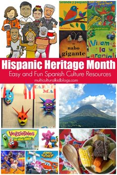 Celebrating Latino Culture during Hispanic Heritage Month With The Best Of MKB Kids! Spanish Classroom Activities, Physical Activities For Kids, Vocabulary Activities, Teaching Spanish, Writing Activities, Educational Activities, Cultural Crafts, Hispanic Culture, Hispanic Heritage Month