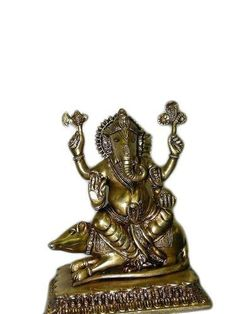 Yoga Decor Ganesh Sculpture, Brass Ganesha Seated Over Mouse 8x7x5 Inches- Statue From India by Mogul Interior, http://www.amazon.com/dp/B00C0OBFI0/ref=cm_sw_r_pi_dp_415vrb04J1VBD