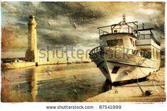 Fotos stock Paisagem E Barcos, Fotografia stock de Paisagem E Barcos, Paisagem E Barcos Imagens stock : Shutterstock.com
