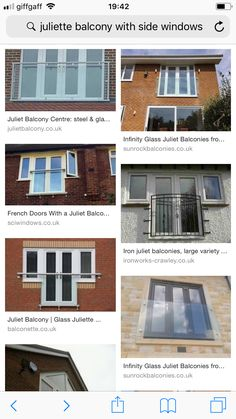 Glass Juliet Balcony, Juliette Balcony, French Doors, Loft, Windows, Lofts, Window, Ramen