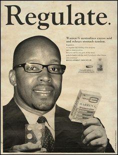 Publicités vintage revues par David Redon