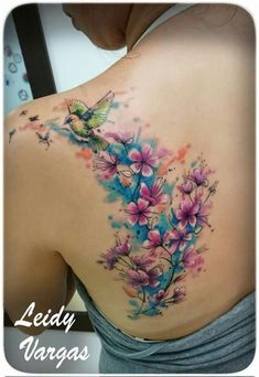 80 Gorgeous Watercolor Floral Tattoo Designs For Women - Pag.- 80 Gorgeous Watercolor Floral Tattoo Designs For Women – Page 72 of 80 80 Gorgeous Watercolor Floral Tattoo Designs For Women – Page 72 of 80 – Chic Hostess - Pretty Tattoos, Unique Tattoos, Beautiful Tattoos, New Tattoos, Body Art Tattoos, Small Tattoos, Sleeve Tattoos, Water Color Tattoos, Foot Tattoos Girls