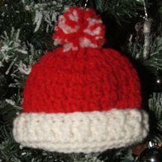 L'il Hat Ornament-Free Crochet Pattern