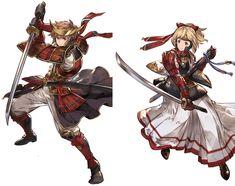 그랑블루 판타지/직업 Fantasy Character Design, Character Concept, Character Inspiration, Character Art, Manga Characters, Cute Characters, Fantasy Characters, Game Concept Art, Armor Concept