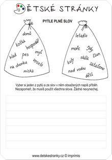 Pytle plné slov Language, Notes, Education, Literatura, Report Cards, Languages, Notebook, Onderwijs
