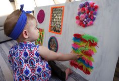 Sensory Board DIY | Molly Sims