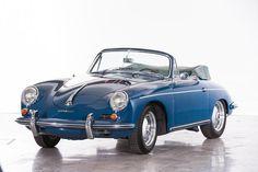 1961 Porsche 356B T5 1600 Super Cabriolet