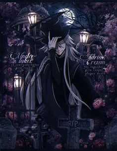SQUEEEE Black Butler Undertaker, Black Butler Anime, Shinigami, Me Me Me Anime, Anime Guys, Der Undertaker, Anime Manga, Anime Art, Anime Siblings