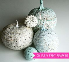 6 Fresh Ways To Decorate A Pumpkin | Handmade Charlotte