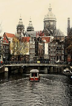 Amsterdam in the winter. Would love to travel to Europe in the winter