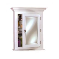"Found it at Wayfair - Wilshire II 22"" x 27"" Semi Recessed Medicine Cabinet"