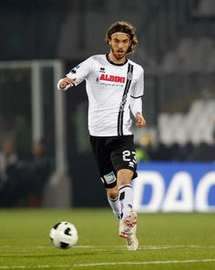 Andrea Tabanelli of Cesena during the Serie B match between AC Cesena and Reggina Calcio at Dino Manuzzi Stadium on December 21, 2013 in Cesena, Italy.