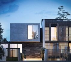 Render of Dawson Avenue Residences in Brighton designed by B.E Architecture