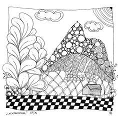 lackenkogel Zentangle Drawings