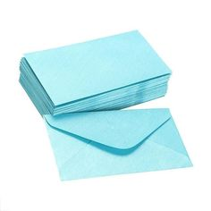 50pcs Retro Coloured Blank Paper Envelopes Wedding Party Invitation Gift 6A