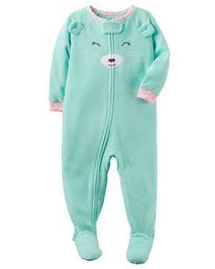 Pyjama 1 pièce en molleton