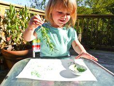 summer outdoor art activities from so says sarah