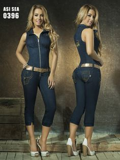 "Butt Lift systemThese jeans are very popular and sell out very quickly, often before we can update our inventory. If the item is out of stock we will notify you.Our Colombian Jeans are made in Colombia and directly imported to the US. These jeans are made of a cotton/spandex denim which is exclusively designed to comfortably give you a tight shapely figure. The wide waist band features a two way stretch which helps control the abdominal areas and avoid ""muffin top"". ..."