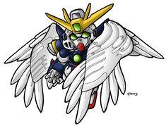 SD Wing Zero Custom by MobileSuitGio.deviantart.com on @DeviantArt