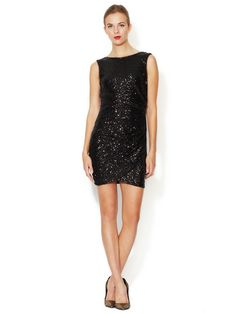 Scoop Back Sequin Sheath Dress by Ali Ro at Gilt