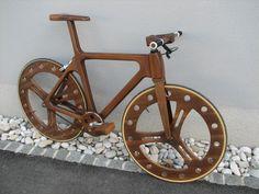 Wooden bike by Mike Kovač