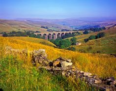 Dentdale - Yorkshire Dales National Park, View Over Dent Head Viaduct On The Settle - Carlisle Railway - eStock