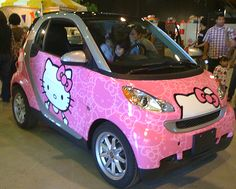Hello Kitty Smart Car 4