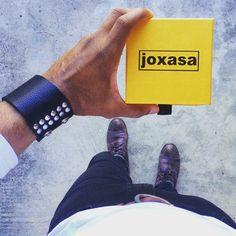 Joxasa leather cuffs. www.joxasa.com