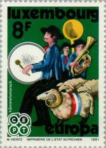 ◇Luxembourg  1981    C.E.P.T.- Folklore
