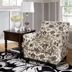 Great accent chair Signature Design by Ashley 1770021 Caroline Accent Chair - Home Furniture Showroom