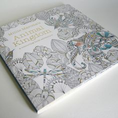 Animal Kingdom is a colouring and doodle book for grown-ups as much as it is for children, published by Batsford.  Each page provides not only an opportunity for you to add colour, but also to embellish the intricate illustrations with your own patterns and drawings.