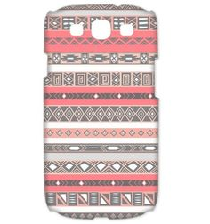 Peach Rose Aztec Pattern - Cover Samsung Galaxy S3 Case. $17.00, via Etsy.