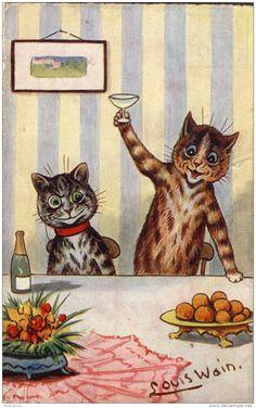 louis wain cats - Google Search