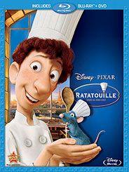 Ratatouille Blu-ray DVD Combo Pack